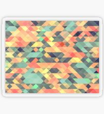 Abstract Geometry Transparent Sticker