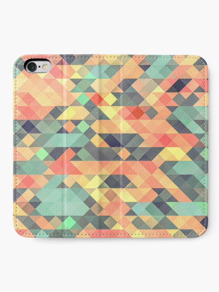 Alternate view of Abstract Geometry iPhone Wallet