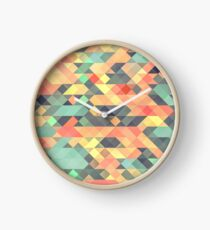 Abstract Geometry Clock