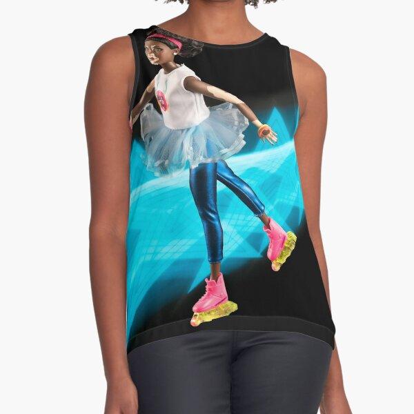 Super Skater Doll with Vitiligo Sleeveless Top