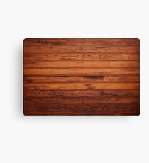 Wooden Boards - Realistic Elements Canvas Print