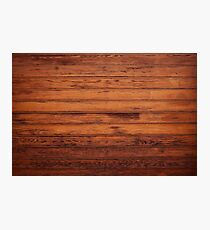 Wooden Boards - Realistic Elements Photographic Print