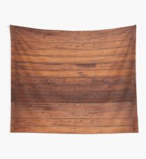 Wooden Boards - Realistic Elements Wall Tapestry