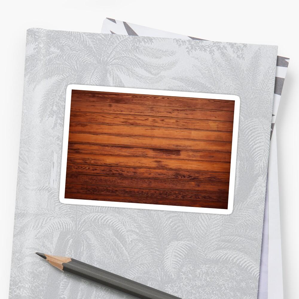 Wooden Boards - Realistic Elements Sticker