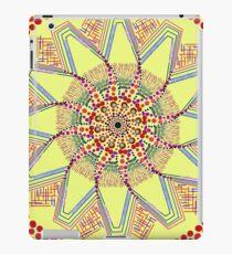 Sunflower Star  Mandala iPad Case/Skin
