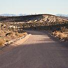 Groom Lake Road, Area 51, Rachel, Nevada by Henry Plumley