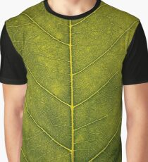 Leaf - HD Nature Graphic T-Shirt