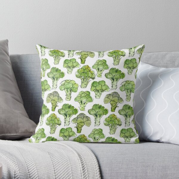 Broccoli - Formal Throw Pillow