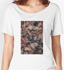 Dried Autumn Leaves - HD Nature Relaxed Fit T-Shirt