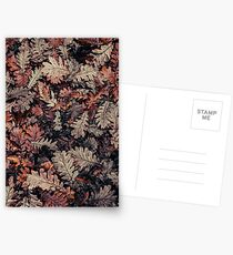 Dried Autumn Leaves - HD Nature Postcards
