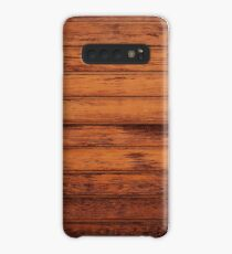 Wooden Boards - Realistic Elements Case/Skin for Samsung Galaxy