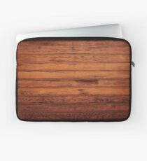 Wooden Boards - Realistic Elements Laptop Sleeve