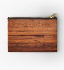 Wooden Boards - Realistic Elements Zipper Pouch