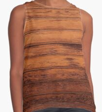Wooden Boards - Realistic Elements Sleeveless Top
