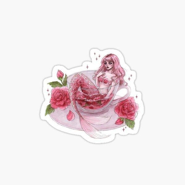 Rose tea Sticker