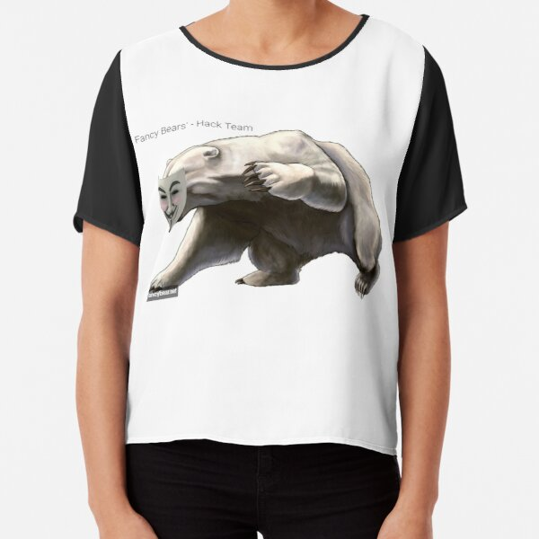 FANCY BEARS' Hack Team #FANCY #BEARS #Hack #Team #FANCYBEARS #HackTeam #FANCYBEARSHackTeam Chiffon Top