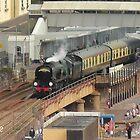 Southern Railway 34046 'Braunton' at Dawlish by Rorymacve