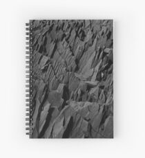 Black Rocks - Nature Elements Spiral Notebook
