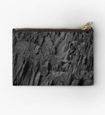 Black Rocks - Nature Elements Zipper Pouch