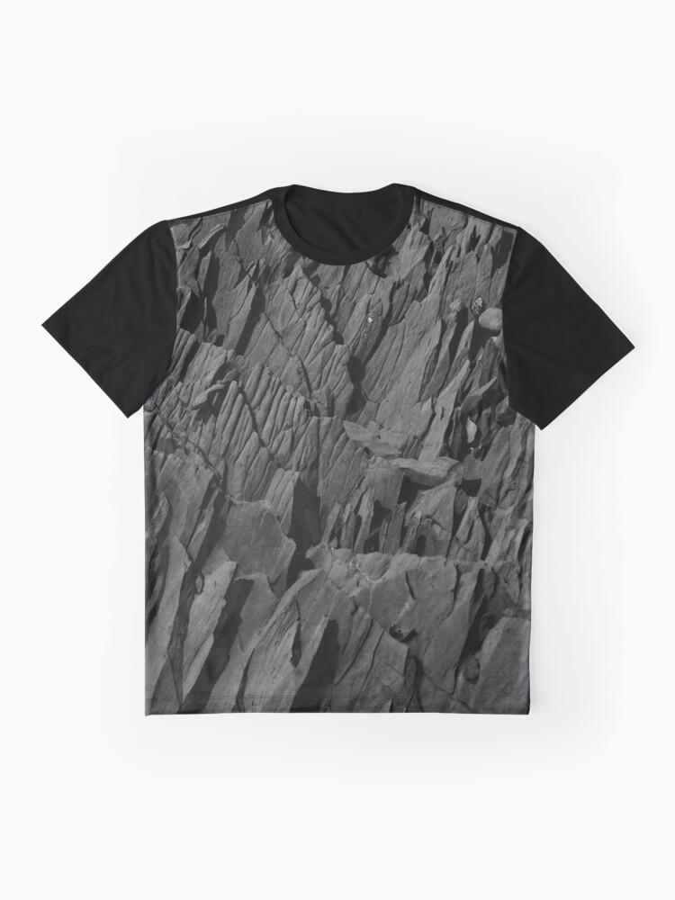 Alternate view of Black Rocks - Nature Elements Graphic T-Shirt