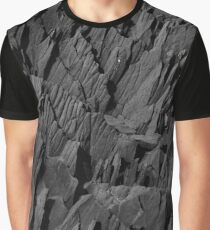 Black Rocks - Nature Elements Graphic T-Shirt
