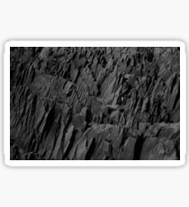 Black Rocks - Nature Elements Sticker