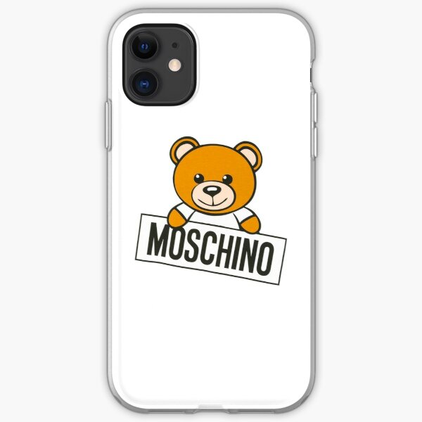 Moschino bear phone case iPhone Soft Case