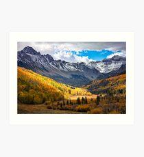 Uncomphgre National Forest Art Print