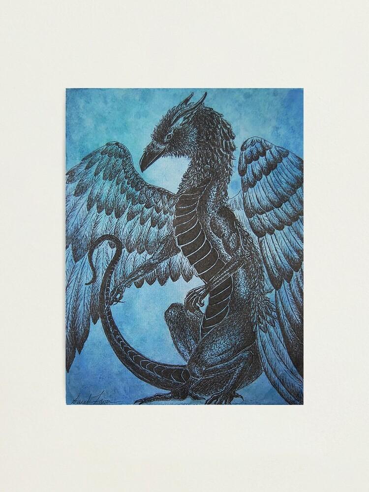 Alternate view of Raven Dragon  Photographic Print