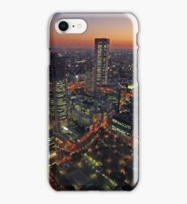 Shinjuku Sunset iPhone Case/Skin