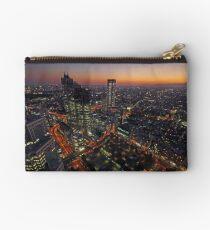 Shinjuku Sunset Zipper Pouch