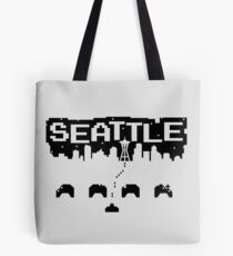 8-BITS OF SEATTLE Tote Bag
