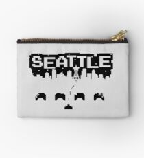8-BITS OF SEATTLE Zipper Pouch