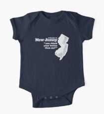 WELCOME TO NEW JERSEY Short Sleeve Baby One-Piece