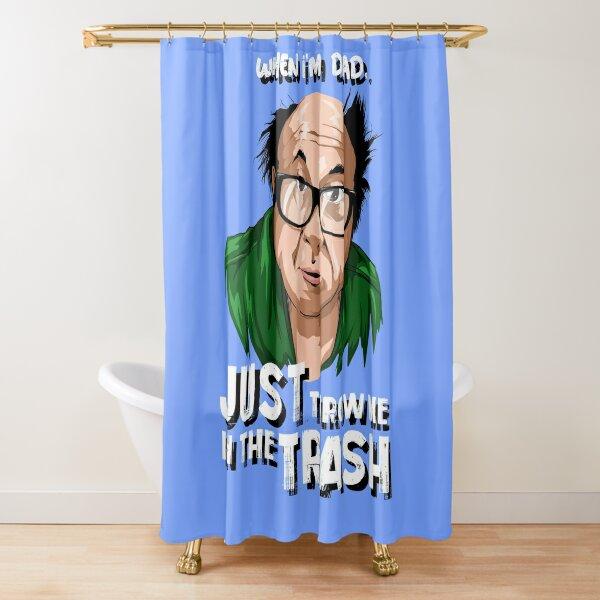 When Im Dead Shower Curtain