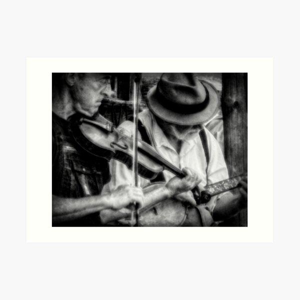 Bluegrass Players Art Print