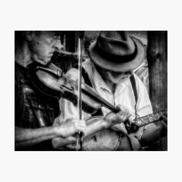 Bluegrass Players Photographic Print
