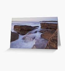 Silky Rock Greeting Card