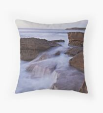 Silky Rock Throw Pillow
