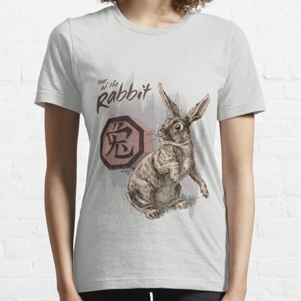 Year of the Rabbit by Stephanie Smith Essential T-Shirt