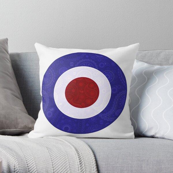 Paisley Design Mod Target Cojín