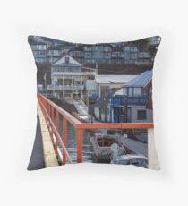 Cowichan Bay (3) Throw Pillow