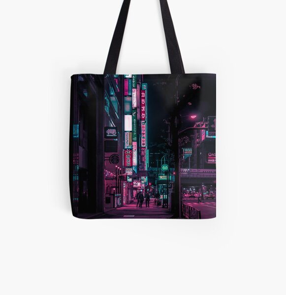 Find Me In The Future All Over Print Tote Bag