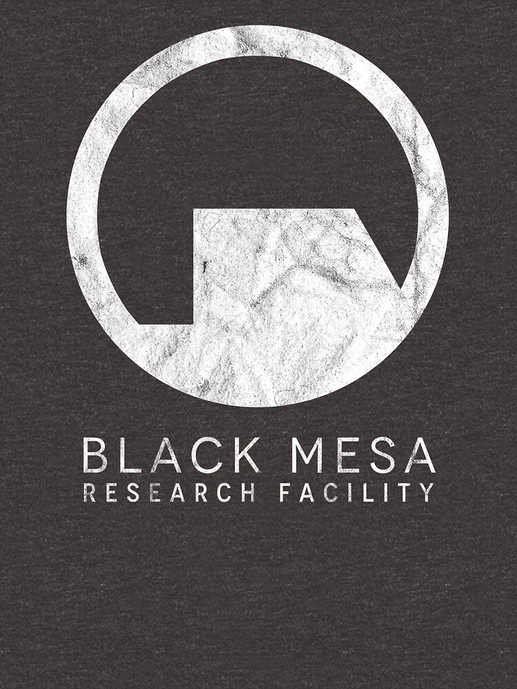 Black Mesa Research Facility Logo inspired by Half Life by landobry