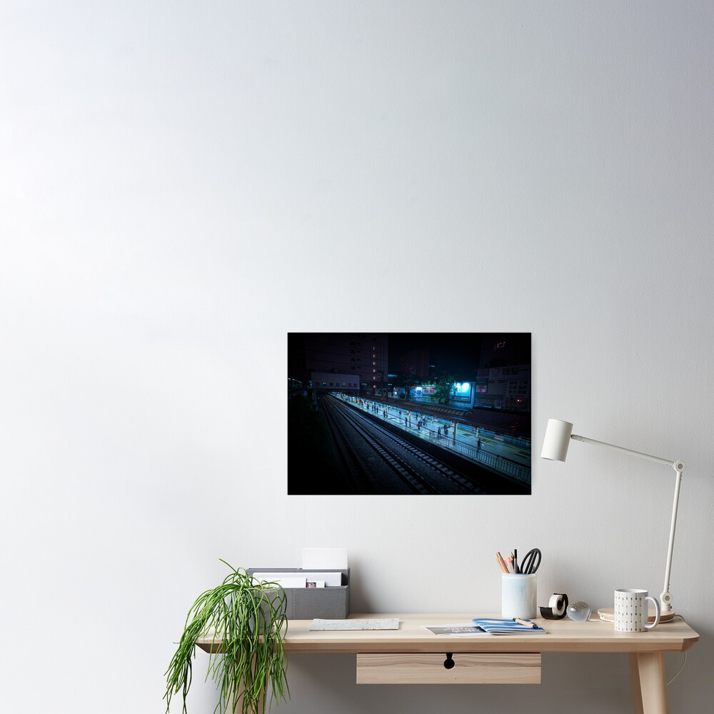 Neo Tokyo - Train Station Poster