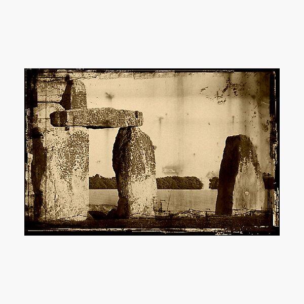 Stonehenge, Amesbury UK  ©  Photographic Print