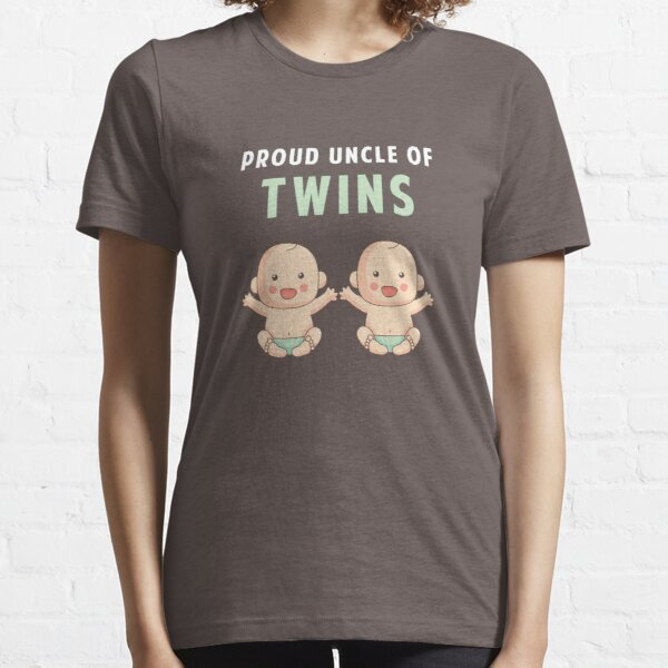 Proud Uncle of Twins Essential T-Shirt