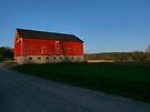 Big Red Barn by Marcia Rubin