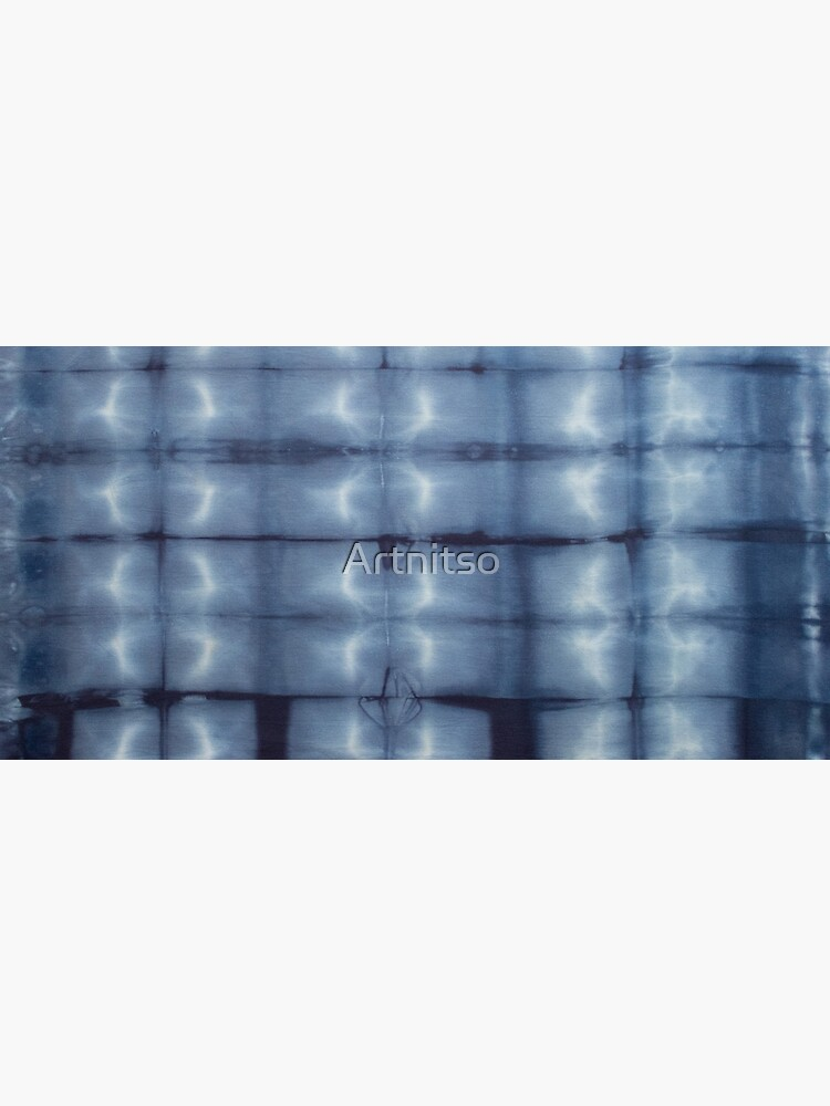 SKU546 Shibori Style - Blue Denim 2 by Artnitso
