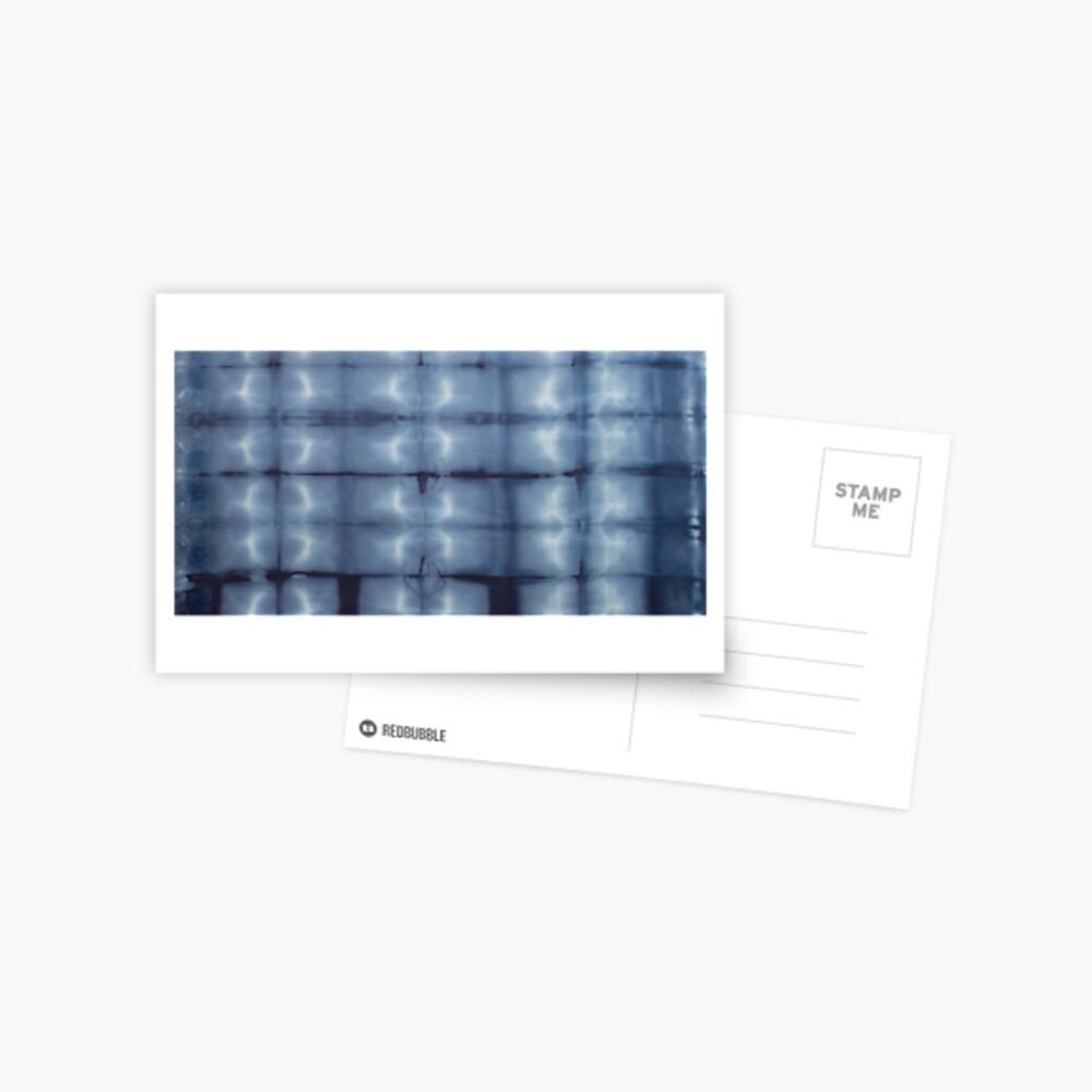 SKU546 Shibori Style - Blue Denim 2 Postcard